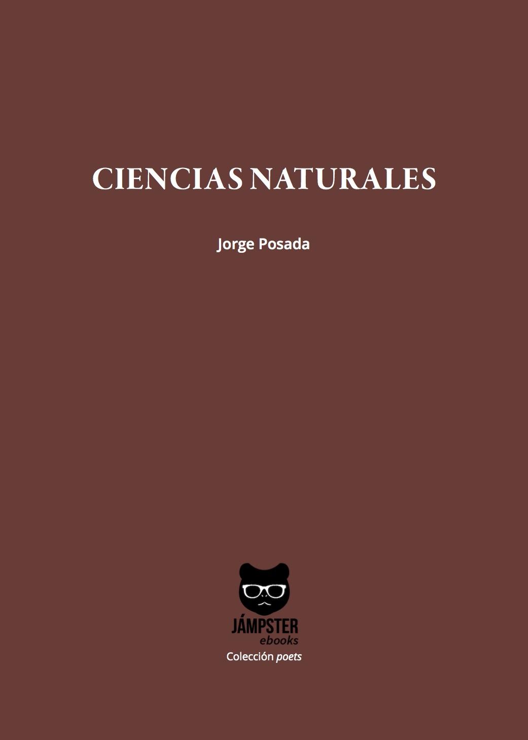Ciencias Naturales - Jorge Posada [Portada]