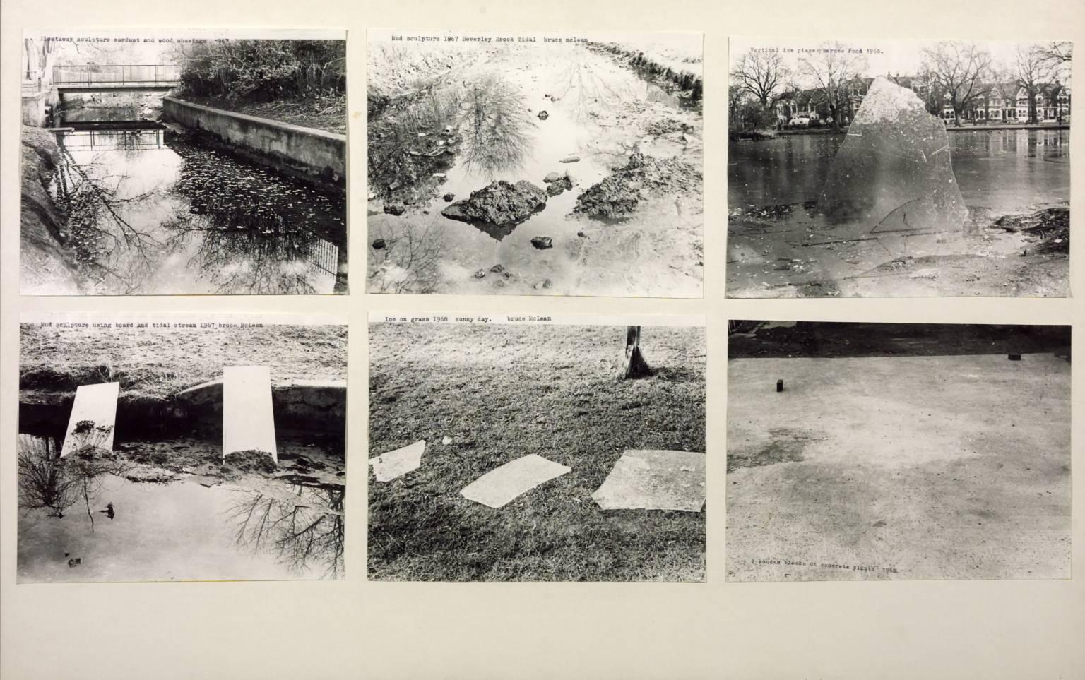 Six Sculptures 1967-8 by Bruce McLean born 1944