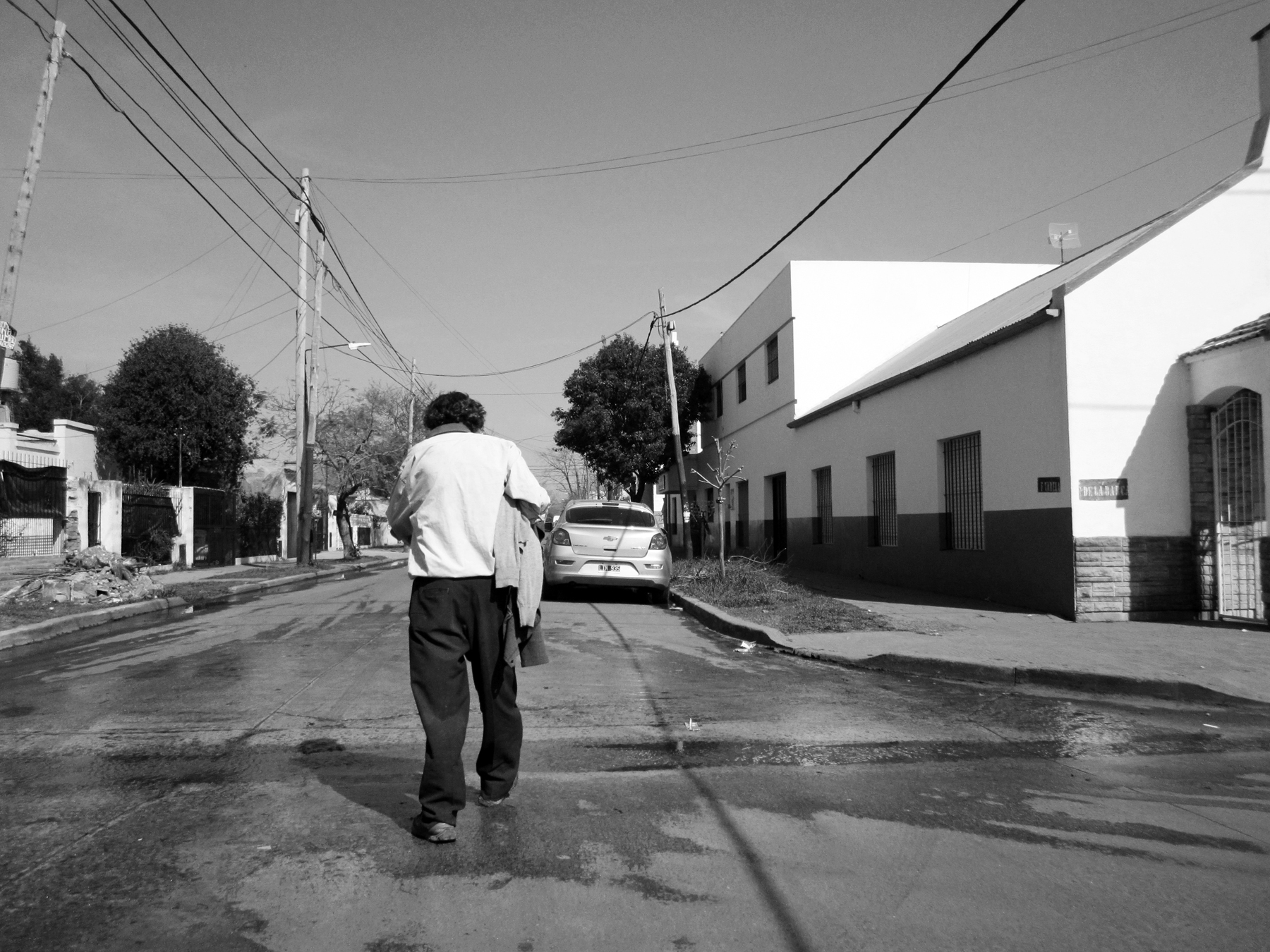 Calles del conurbano
