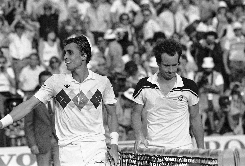 Ivan Lendl, John McEnroe